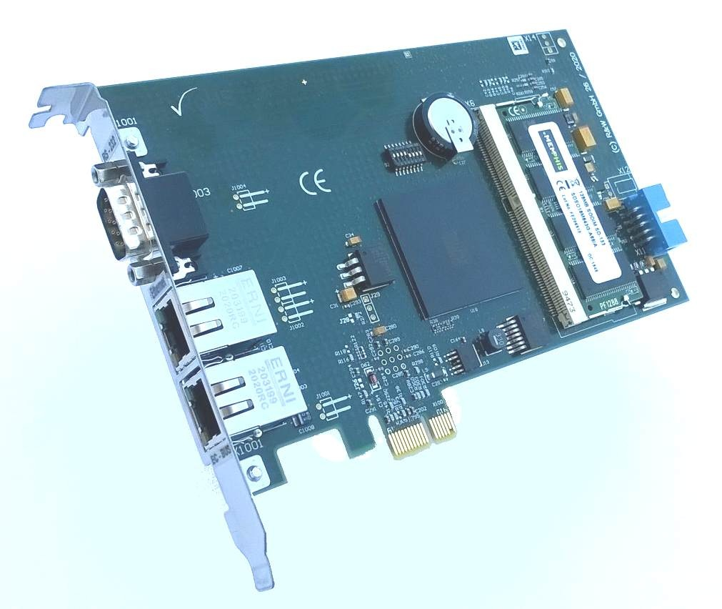 EtherCAT PCI Express Karte