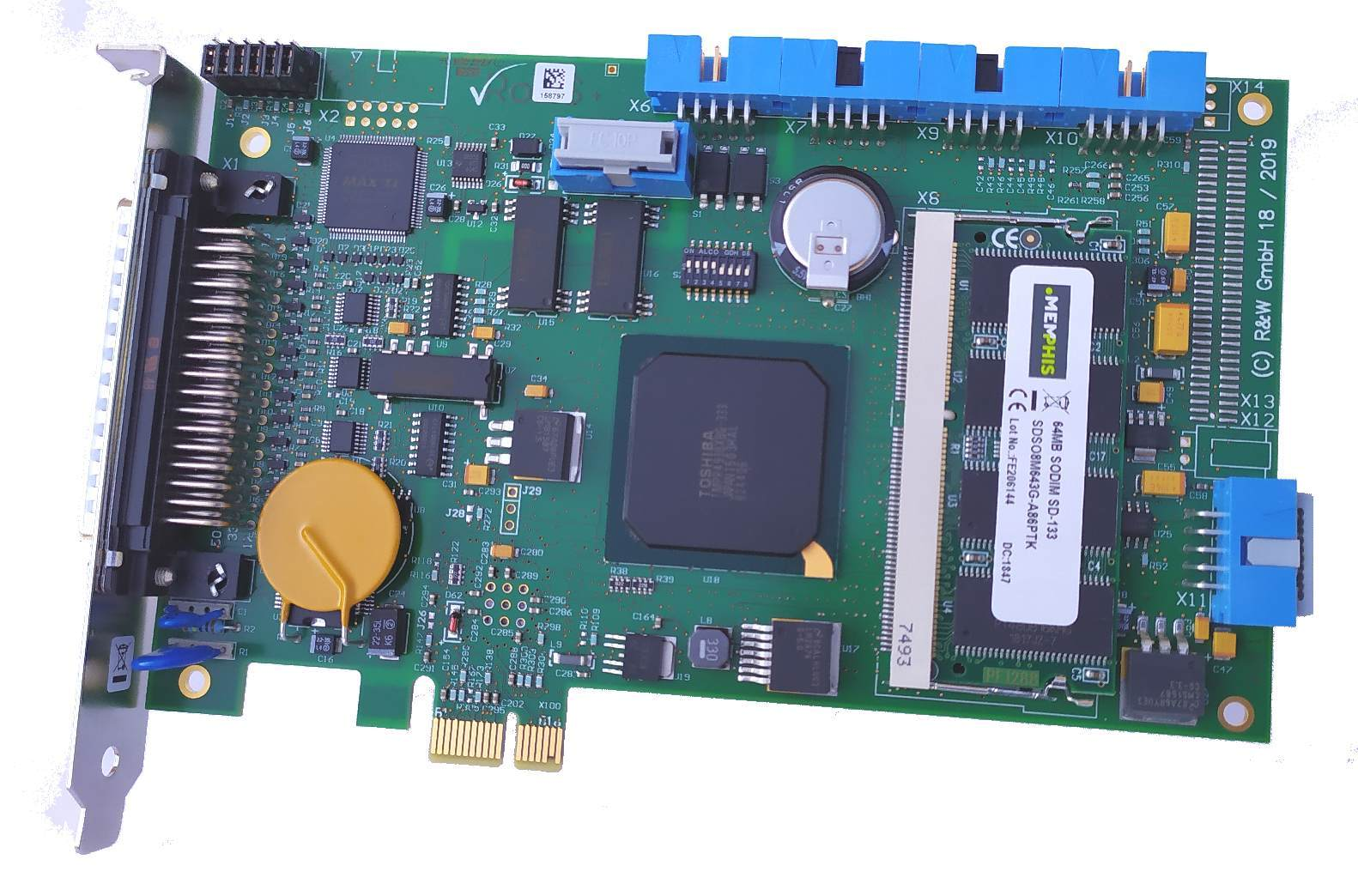 PCI-Express Version MCU-3100